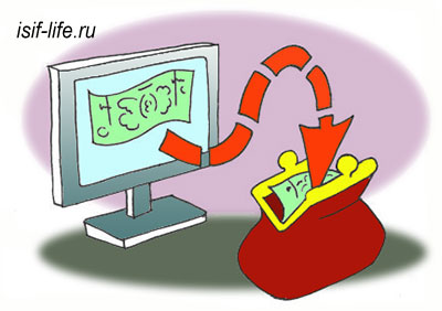câștigarea de bani pe metodologia Internetului)